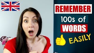 How To Remember Words Easily - English Like A Native