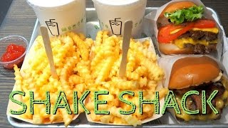Shake Shack in Seoul, Korea: Eating burgers, cheesy fries and milkshakes