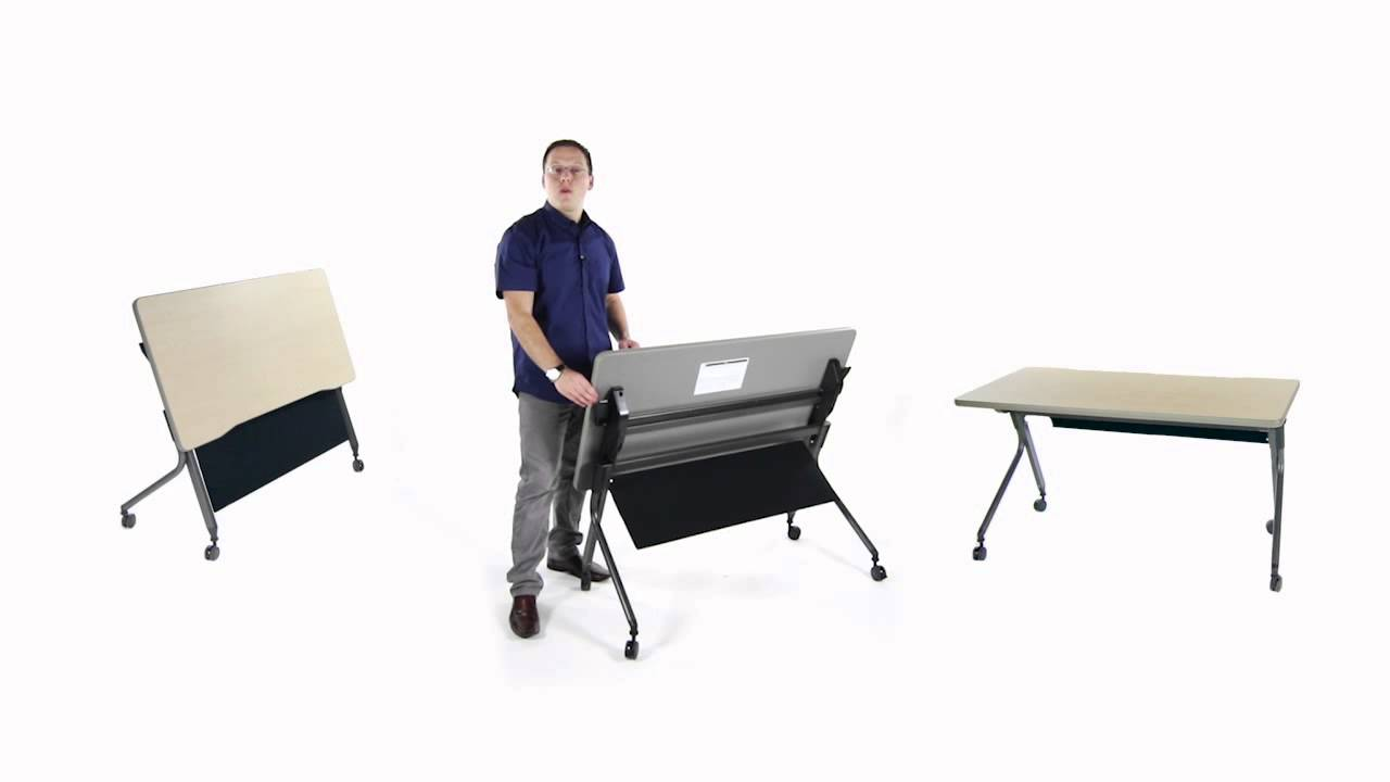 OFM Presents The Mesa Series Nesting Training Tables YouTube - Ofm training table