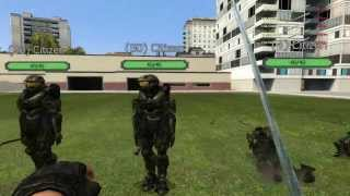 Garrys mod Dr  Zzed trying some weapons out XD