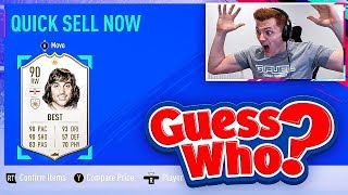 OMFG INSANE MID TIER ICON IN A PACK & HUGE ICON DISCARD!!! FIFA 19 Guess Who!