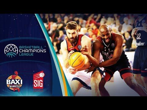 Baxi Manresa V Sig Strasbourg – Highlights – Basketball Champions League 2019-20