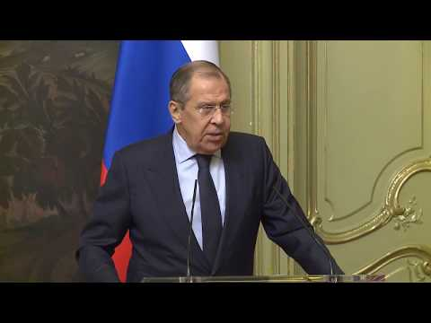 Заявление С.Лаврова по итогам переговоров с Д.Монкадой, Москва, 13 декабря 2019 года