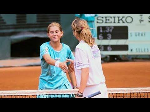 Steffi Graf vs Monica Seles 1989 RG Highlights