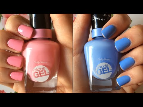 Sally Hansen Quot Miracle Gel Quot Nail Polish Review Amp Demo Hd