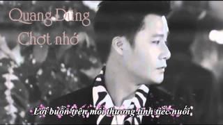 [Karaoke] Chợt nhớ - Quang Dũng