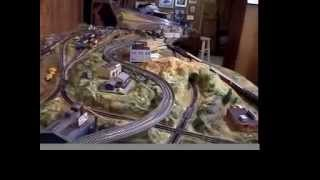 Building N Scale Train Set