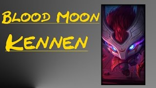 Blood Moon Kennen Skin Spotlight | League of Legends Skin Review