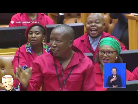 Julius Malema vs Wannabe Mayor Thoko Didiza