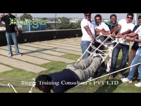 Outbound Training - Glenmark Pharmaceuticals, Bangalore