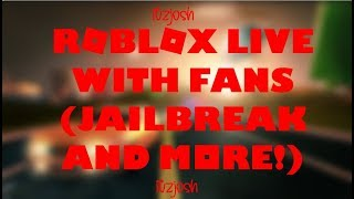 🔴ROBLOX JAILBREAK NEW UPDATE (NEW SUV AND MORE)!!! LIVE! ROAD TO 200SUBS!! 🔴 w/Nath Gaming🔴