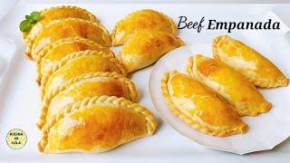 The Best BEEF EMPANADA RECIPE  How to Make Beef Empanada  BEEF EMPANADA RECIPE Filipino Style