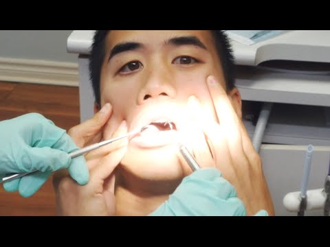 Can't Feel My Face - played with dentist equipment.
