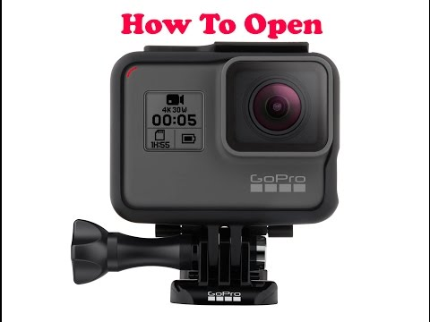 How to Open GoPro Hero5 Black (New Box, Case & Ports)