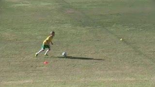 RIP Cruyff! - Brendan working on Cruyff Turn for soccerskills4kids.com tutorials