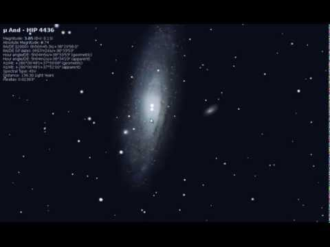 Andromeda Galaxy - How To Find.