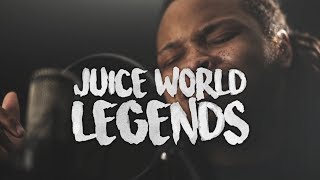 "XXXTENTACION & Lil Peep tribute ""Legends"" ~ Juice WRLD (Kid Travis Cover)"