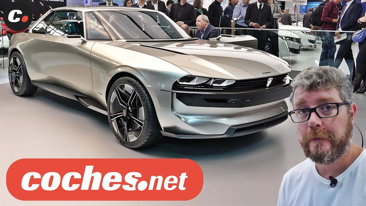 Peugeot E Legend Concept Salon De Paris 2018 Mondial De L Auto