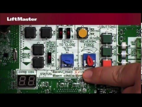 liftmaster la500pkgul linear actuator swing gate openers youtube rh youtube com Genie Garage Door Sensor Wiring Diagram 2003 Ford Escape Wiring-Diagram