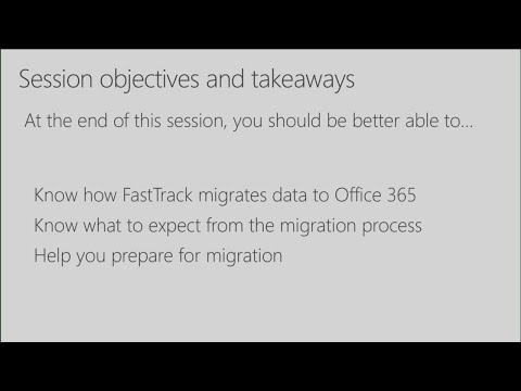 Move your data to Microsoft Office 365 - BRK3228