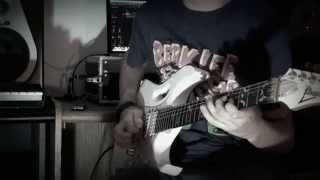 Steven Wilson Drive Home Solo / Guthrie Govan Guitar Cover by Rockoryon