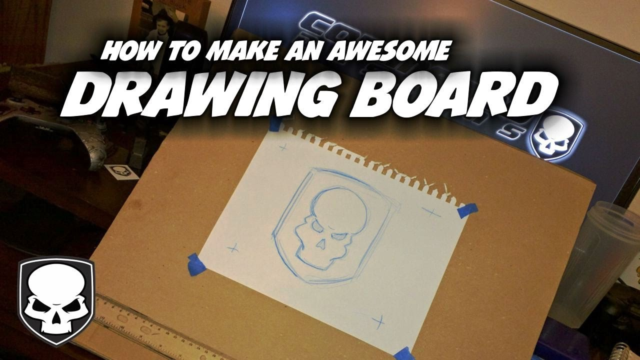 How To Make A Drawing Board   HD   Super Cheap   Super Aaawesome   YouTube