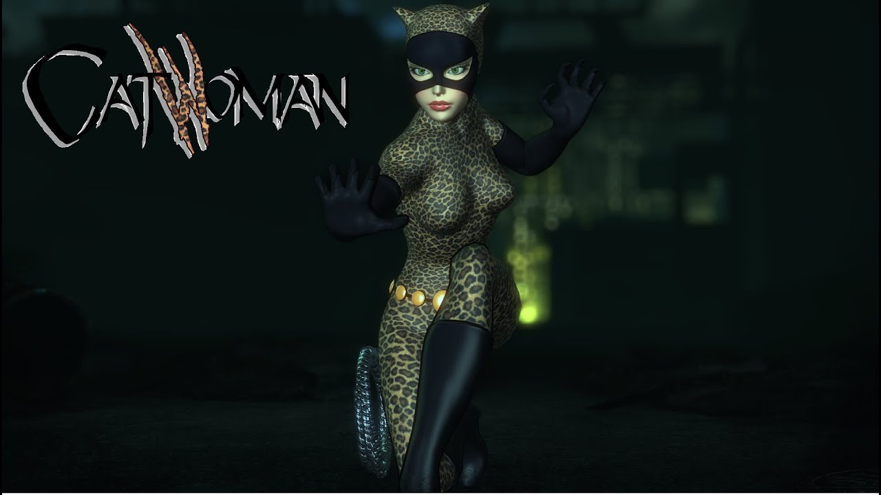Arkham city cat woman mod sexy pic