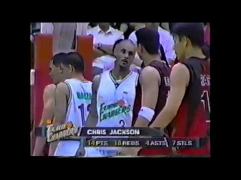 PBA Shell vs San Miguel 2001