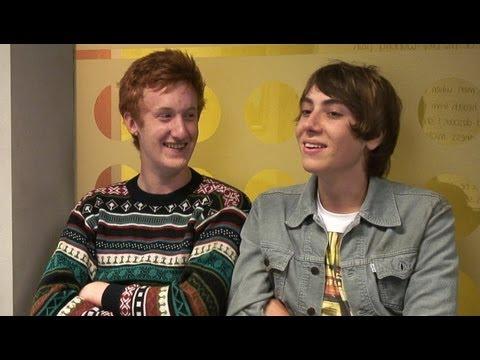 'Skins' Will Merrick and Alexander Arnold 'We still wanna be rock stars!'