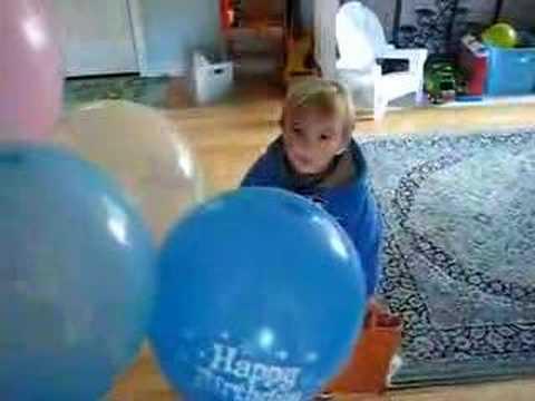 JacksonG Birthday Balloons 1