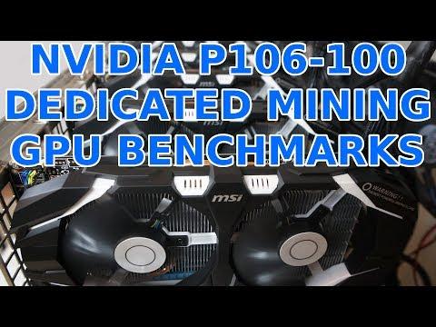 Nvidia P106-100 Dedicated Mining GPU MSI & Galaxy Unboxing & Benchmarks Ethereum & Zcash