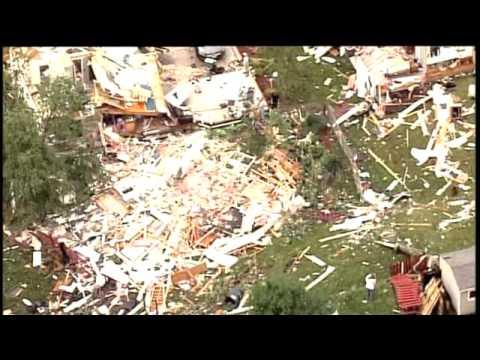 Raw Video - St. Charles Storm Damage 1
