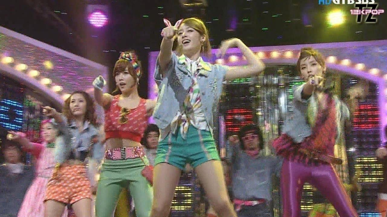 T-ARA(티아라) - ROLY POLY 롤리폴리 Stage Mix~~!! 교차편집 [재업로드]