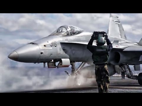 USS Dwight D. Eisenhower Flight Deck • USN Aircraft Carrier