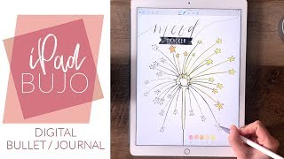 Digital Bullet-Journal mit einem iPad Pro! Ein GoodNotes & Fortzupflanzen Digitale Kugel Journal Tutorial