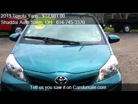 2013 Toyota Yaris LE  for sale in Whitehall, OH 43213 at the