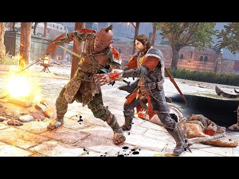 Middle Earth Shadow of War Sword of Dominion Combat, Stealth Kills & Minas Ithil Free Roam