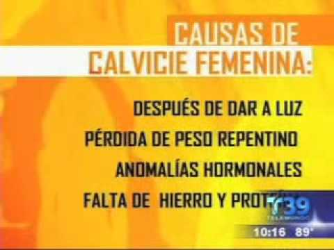 Dr. Lam appears on Telemundo speaking about female hair loss in Spanish