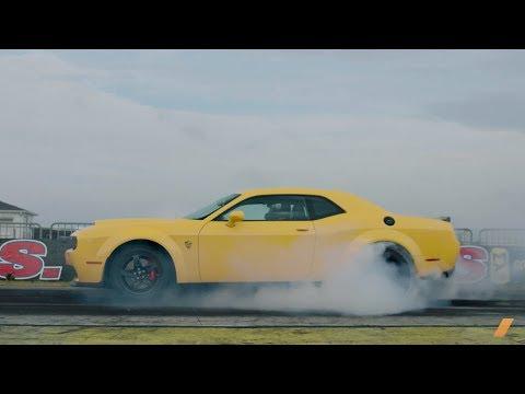 The 840-hp Dodge Challenger SRT Demon -- TEST/DRIVE