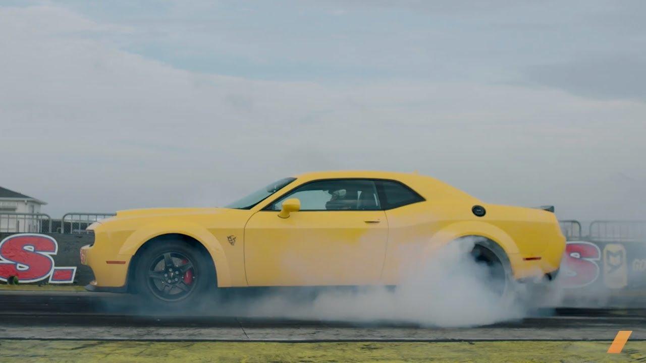 The  Hp Dodge Challenger Srt Demon Test Drive