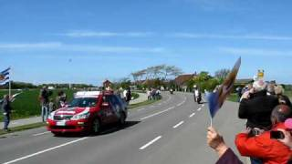 Giro italia langs camping janse Zoutelande