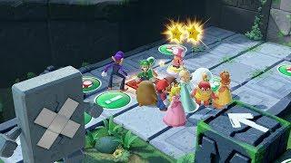 Super Mario Party Partner Party #329 Domino Ruins Treasure Hunt Hammer Bro & Luigi vs boo & Rosalina