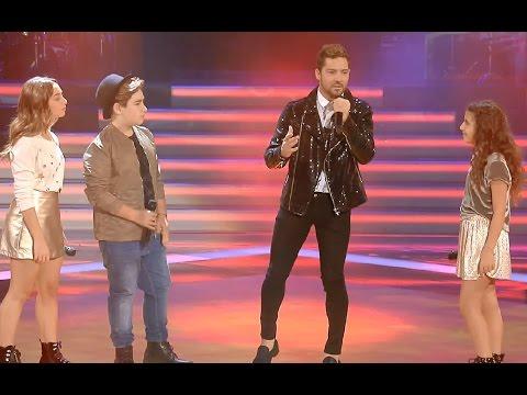 David Bisbal y su equipo: Culpable – Final   La Voz Kids 2017