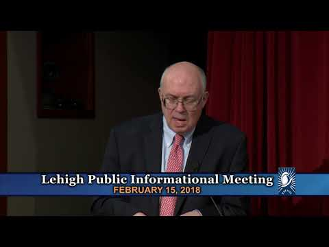 Lehigh Cement Public Informational Meeting - February 15, 20