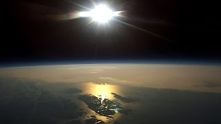 Near Space Weather Balloon With Gopro To 109 000 Feet Full 4 Hour