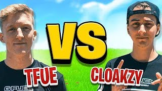 Tfue vs. Cloakzy (1v1 Build Battle)