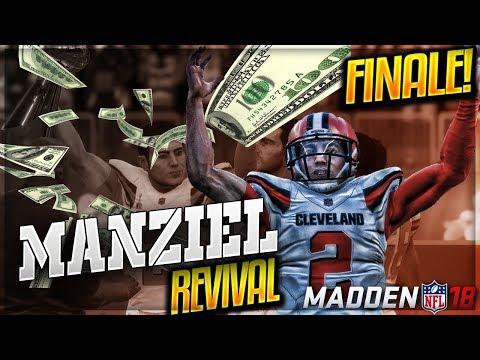 JOHNNY MANZIEL MADDEN 18 CAREER MODE   FINALE!