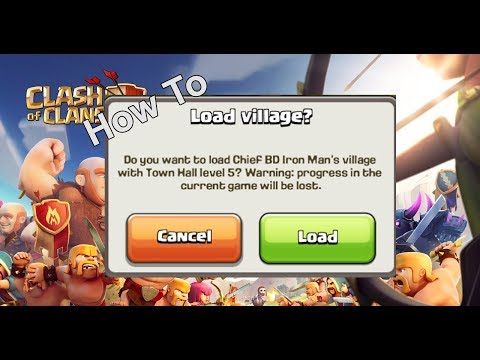 how to transfer clash of clans from a broken android smartphone
