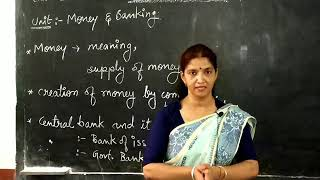 Money / and  / banking / defination of money / Fiat money/Fiduciary Money /Full bodied Money /
