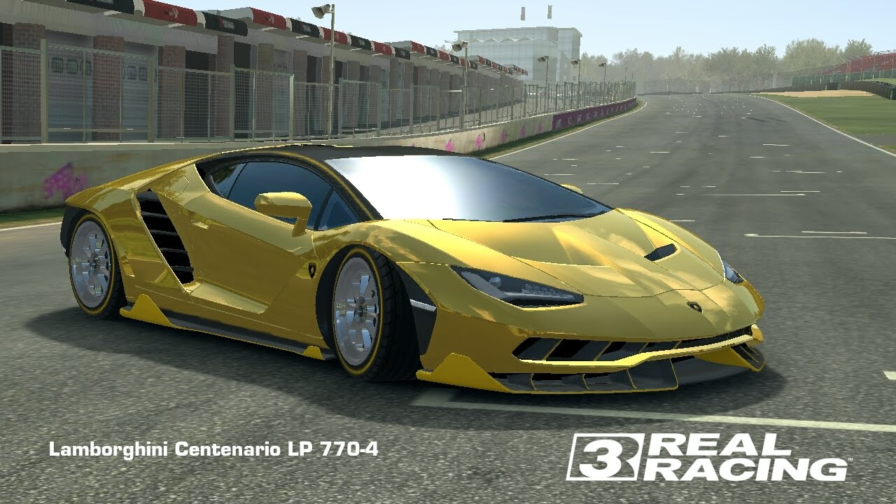 Hack Real Racing 3 Gameplay Gold Lamborghini Centenario Youtube